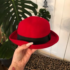 Sassy Red Top hat